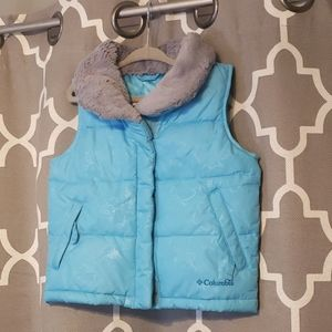 Columbia puffer vest toddler omni shield girl 3t